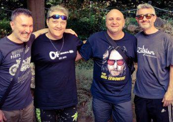 Favolosa giornata in compagnia di Migi e dei grandi Fabrizio Bicio Leo e Marco Sfogli