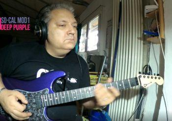 My CHARVEL SO-CAL Deep Purple with EMG SA/SA/58 BrownBack DEMO
